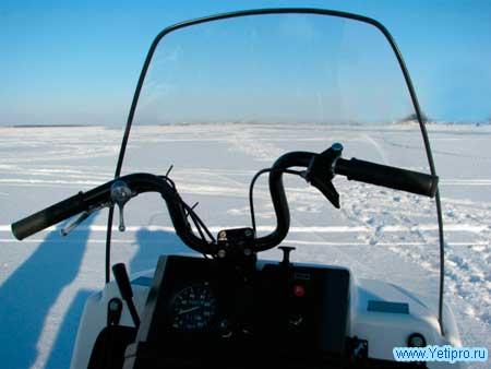 Снегоход буран и руль с подогревом